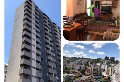 Apartamento amplo, mobiliado Ed. Acapulco